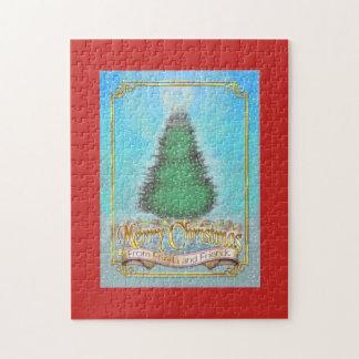 Quebra-cabeça do Natal das caudas de Frieda - neve