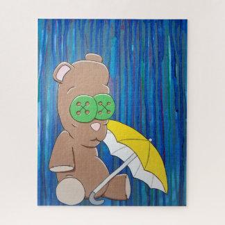 Quebra-cabeça do ursinho do dia chuvoso