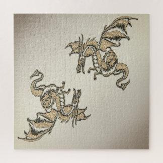 Quebra-cabeça Dragão dourado