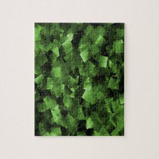 Quebra-cabeça Embaçamento verde…