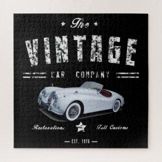 Quebra-cabeça Empresa automóvel do clássico do vintage
