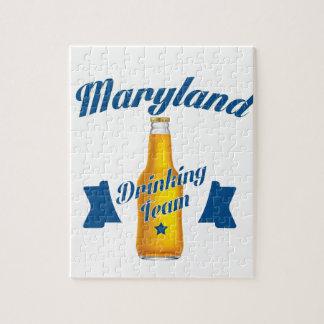 Quebra-cabeça Equipe do bebendo de Maryland