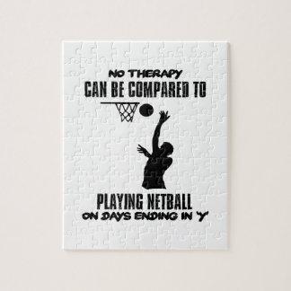 Quebra-cabeça esfrie e tendendo o DESIGN do netball