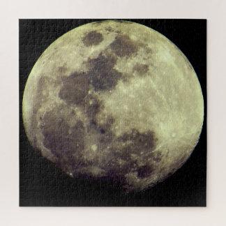Quebra-cabeça Espaço da Lua cheia  