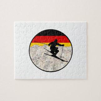 Quebra-cabeça Esqui Alemanha