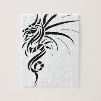 Quebra-cabeça Essemios - dragão furioso
