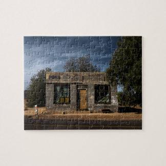 Quebra-cabeça Estação de correios abandonada em Kelso Califórnia