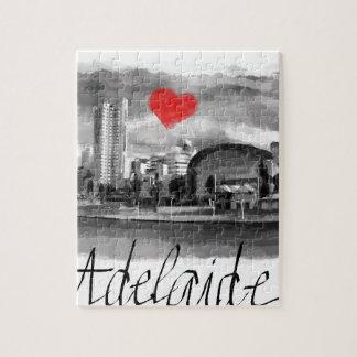 Quebra-cabeça Eu amo Adelaide