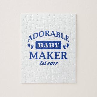 Quebra-cabeça Eu faço bebês adoráveis