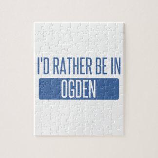 Quebra-cabeça Eu preferencialmente estaria em Ogden