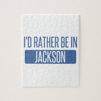 Quebra-cabeça Eu preferencialmente estaria no MS de Jackson
