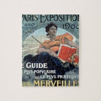 Quebra-cabeça Exposição 1902 de Paris BC