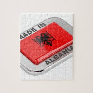 Quebra-cabeça Feito em Albânia
