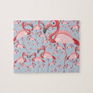 Quebra-cabeça Flamingo