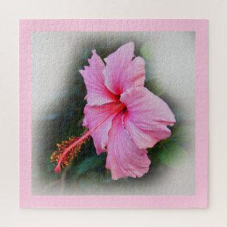 Quebra-cabeça Flor do hibiscus