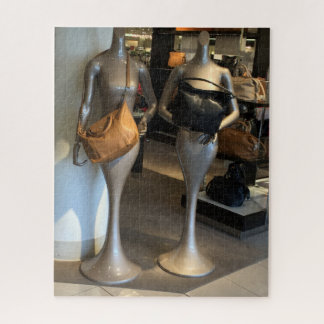 Quebra-cabeça Forma da bolsa das bolsas das meninas das mulheres