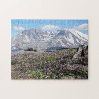 Quebra-cabeça Foto do primavera de Mount Saint Helens