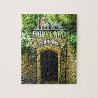 Quebra-cabeça Fotografia da natureza das cavernas do Fairyland