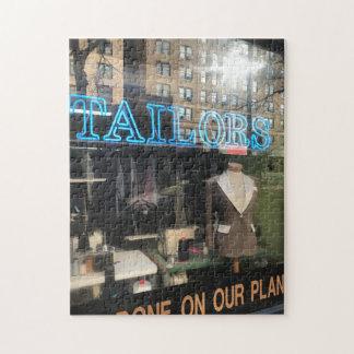 Quebra-cabeça Fotografia da Nova Iorque da janela da loja do