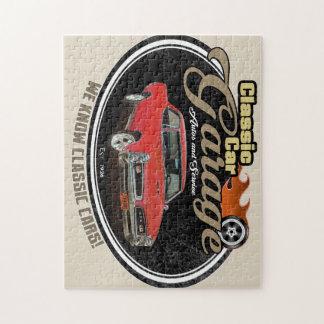Quebra-cabeça Garagem feita sob encomenda do carro clássico GTO