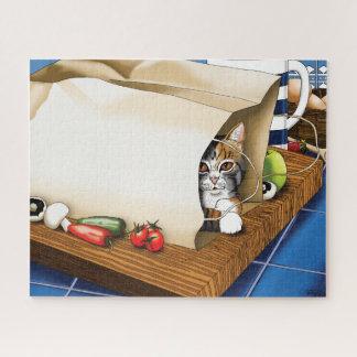 Quebra-cabeça Gato da cozinha