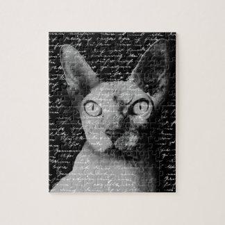 Quebra-cabeça Gato de Sphynx