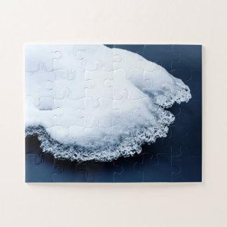 Quebra-cabeça Gelo, neve e água movente