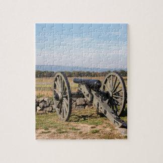 Quebra-cabeça Gettysburg: Uma ideia da carga de Pickett