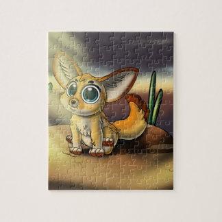 Quebra-cabeça Grande-Eyed do Fox Cutie 8x10 de