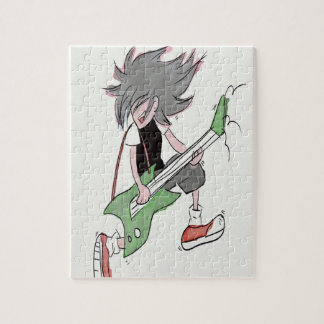 Quebra-cabeça Guitarrista
