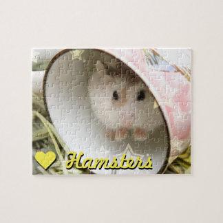 Quebra-cabeça Hammyville - hamster bonito