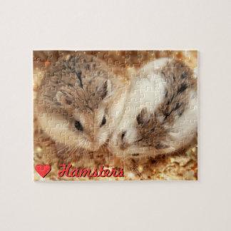 Quebra-cabeça Hammyville - hamster bonitos