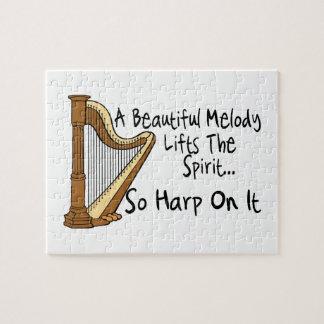Quebra-cabeça Harpa nela