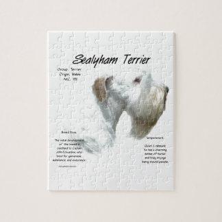 Quebra-cabeça História de Sealyham Terrier