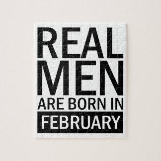 Quebra-cabeça Homens reais fevereiro