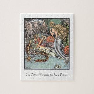 Quebra-cabeça Ilustração da sereia pequena Ivan Bilibin