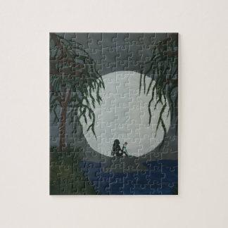 Quebra-cabeça Impressão da arte da solidão