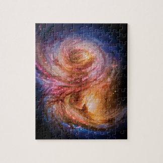 Quebra-cabeça Impressão do artista da galáxia espiral SMM