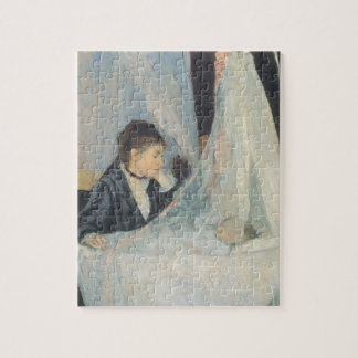 Quebra-cabeça Impressionismo do vintage, berço por Berthe