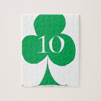 Quebra-cabeça Irlandês afortunado 10 dos clubes, fernandes tony