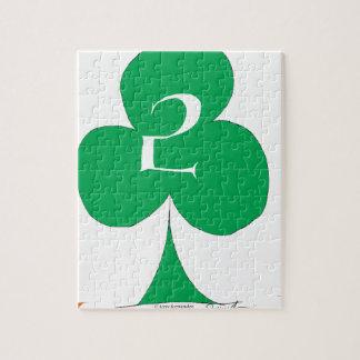 Quebra-cabeça Irlandês afortunado 2 dos clubes, fernandes tony