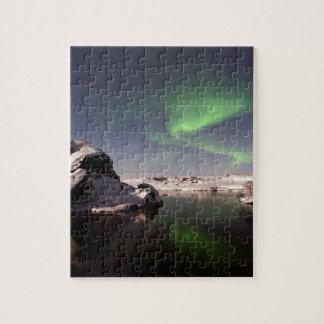 Quebra-cabeça Islândia no inverno