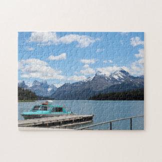 Quebra-cabeça Jaspe Canadá do lago Maligne