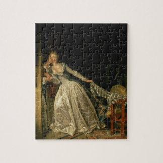 Quebra-cabeça Jean-Honore Fragonard - o beijo roubado - belas