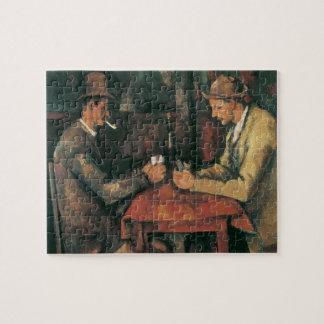 Quebra-cabeça Jogadores de cartão por Paul Cezanne, belas artes