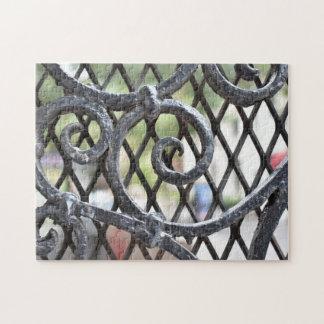 Quebra-cabeça Lado oeste superior New York NYC da porta do ferro