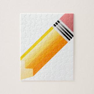 Quebra-cabeça Lápis da escola