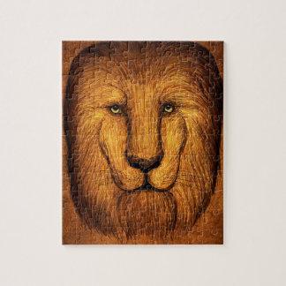 Quebra-cabeça Leão desgrenhado