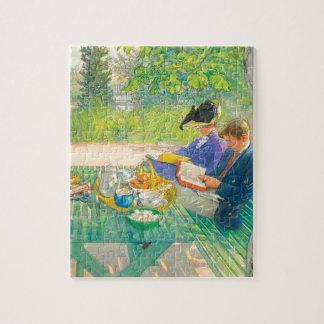 Quebra-cabeça Leitura do feriado por Carl Larsson