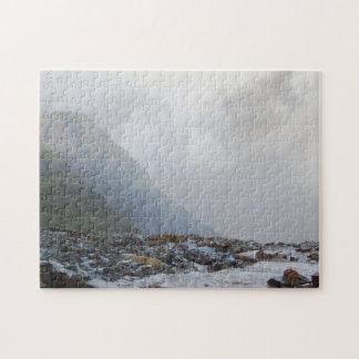 Quebra-cabeça Lembrança do córrego da névoa da paisagem de Wales